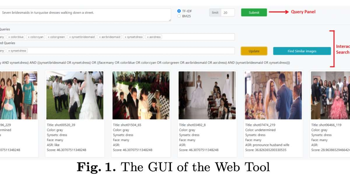 An Interactive Video Search Tool